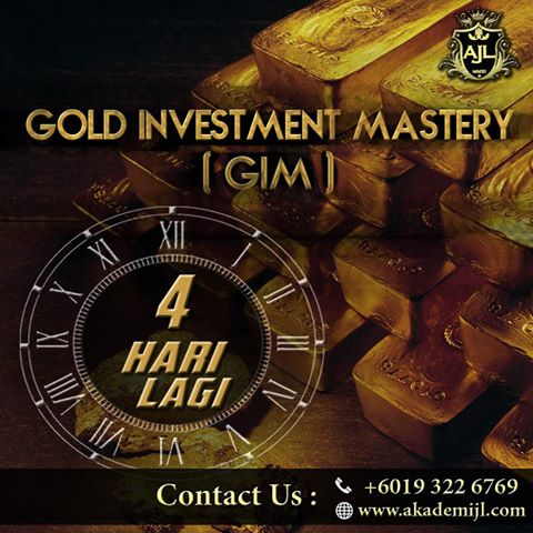 4 Hari Lagi – Gold Investment Mastery (GIM)